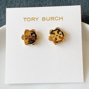 Tory Burch Signature Logo Earrings